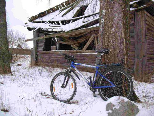 48 Часов на велосипеде при 45 градусах мороза