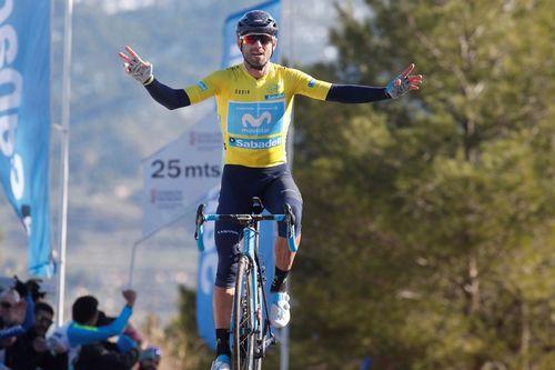 Алехандро вальверде выиграл второй этап вуэльты валенсии 2018
