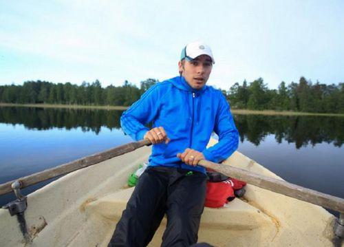Антон шипулин в межсезонье развлекается рыбалкой в тюмени