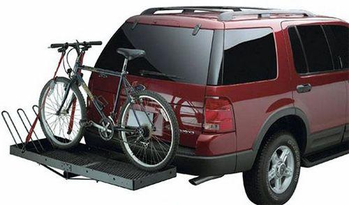 Багажники для велосипеда на фаркоп автомобиля