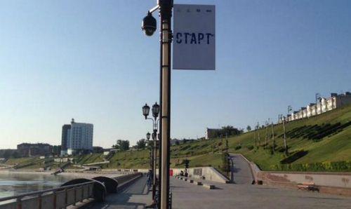 Бегуны оценили новую трассу на тюменской набережной