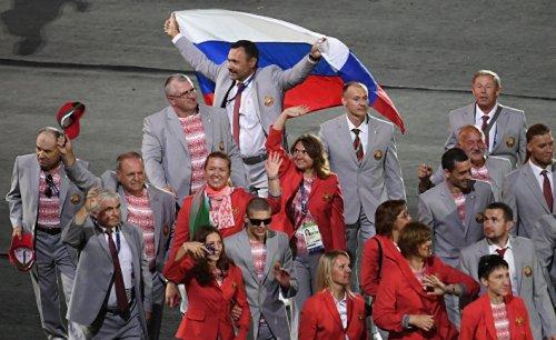 Белоруссия организовала пророссийский протест на церемонии открытия паралимпийских игр - «спорт»