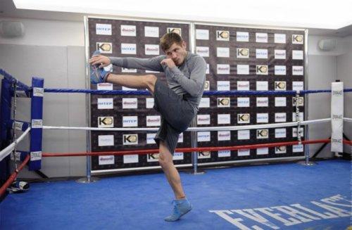 Беринчик и малиновский провели открытую тренировку (фото) - «бокс»
