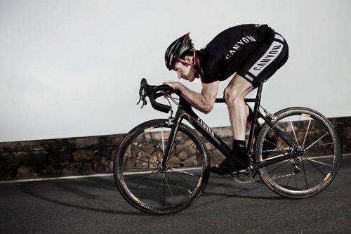 Боль в спине у велосипедистов