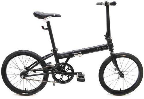 Быстрый и лёгкий складной велосипед dahon mu uno 2013 года