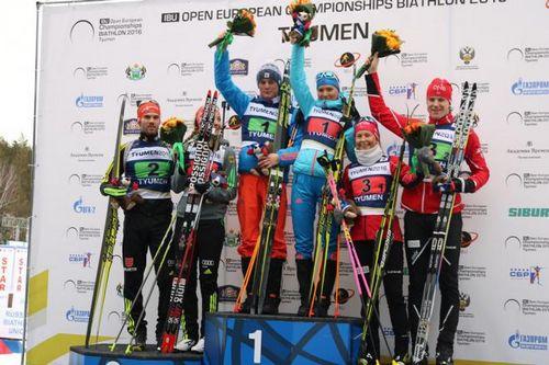 Чемпионат европы по биатлону в тюмени: первую историческую гонку выиграли россияне
