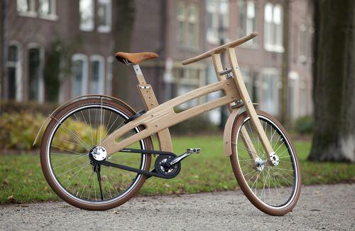 Деревянный велосипед aero