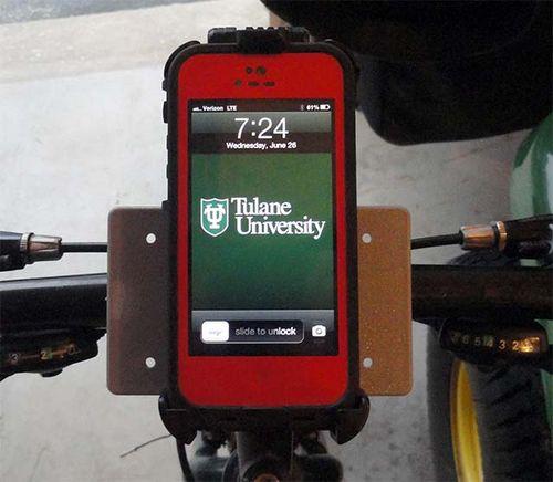 Держатель для gps-навигатора и телефона на руль велосипеда своими руками стоимостью 9 долларов