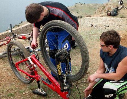 Ежедневная проверка велосипеда