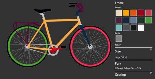 Gallant bicycles предлагает собрать велосипед по собственному вкусу