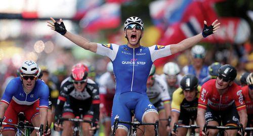 Герайнт томас стал победителем первого этапа тур де франс 2017
