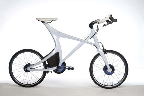 Гибридный велосипед lexus