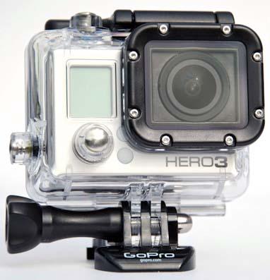 Gopro hero3 black editionчрезвычайно прочная и компактная экшн камера