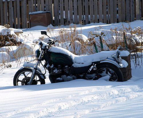 Готовим мотоцикл к зиме