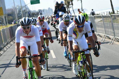 Грег ван авермат - олимпийский чемпион в групповой шоссейной велогонке