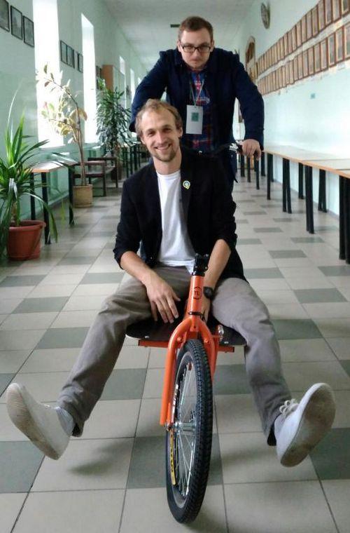 Грузовые велосипеды tubicycle