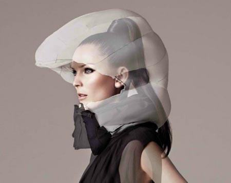 Hovding - невидимый шлем для велосипедистов
