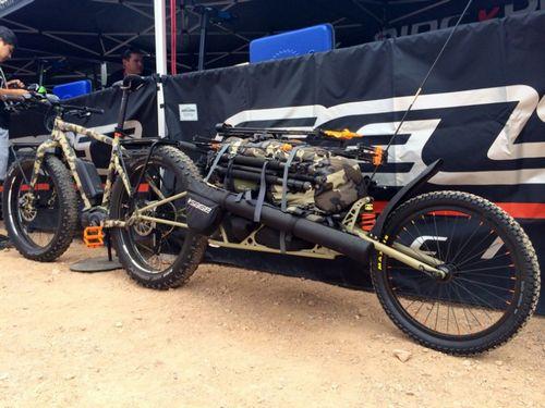 Interbike 2014: felt представили охотничий «фэтбайк» и байк для перевозки пива