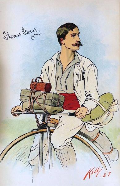 История кругосветных путешествий на велосипеде