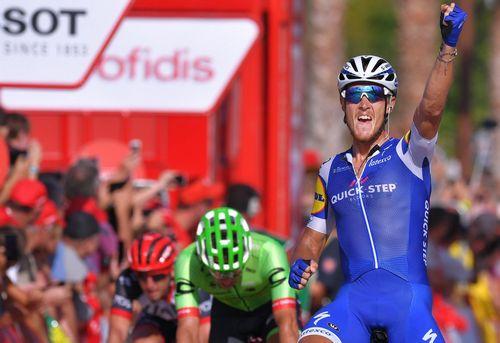 Ив лампарт выиграл второй этап вуэльты испании 2017