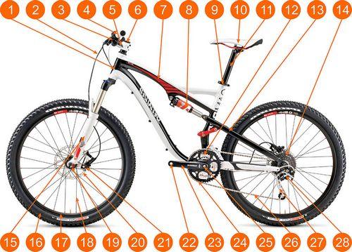 Изготовление велосипедных фар и фонарей с питанием от динамо-машины, ремонт, установка и настройка велокомпьютеров, техническое обслуживание и ремонт велосипедов, история велосипедного спорта