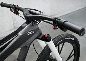 Электрический велосипед audi worthersee