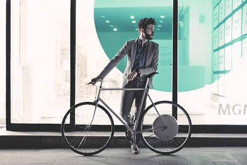 Электро-колесо smart wheel — неплохое решение для ситибайка