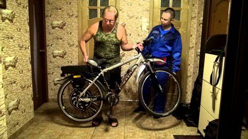 Электровелосипед в стиле армейского ножа