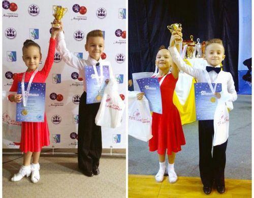 Юные танцоры из тюменского прибоя выиграли первенство ижевска