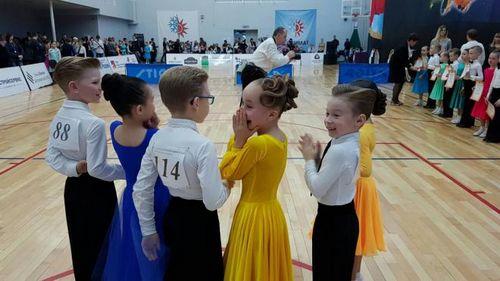 Юные танцоры прибоя стали лучшими на городском турнире