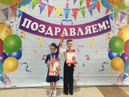 Юные танцоры прибоя вернулись из нижневартовска с наградами