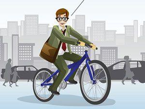 Как ездить на работу на велосипеде