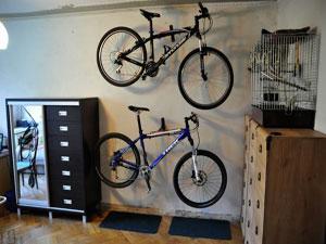 Как и где правильно хранить велосипед зимой?