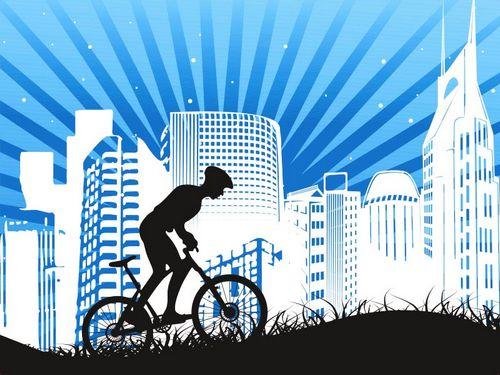 Как на велосипеде преодолевать препятсвия: бордюры, корни, стволы деревьев