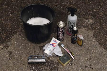 Как почистить и смазать велосипед