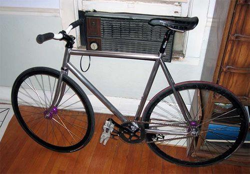 Как полностью снять краску с велосипеда