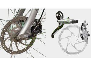 Как поставить дисковые тормоза на велосипед