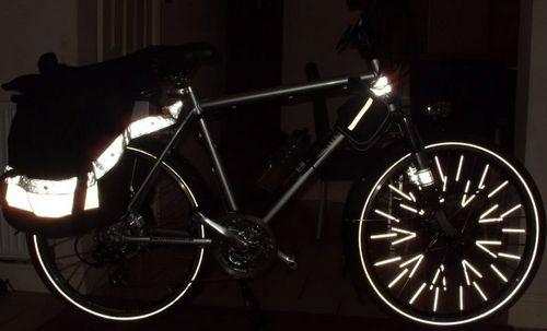 Как повысить видимость велосипедиста