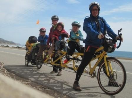 Как путешествовать на велосипеде