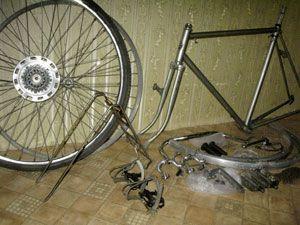Как самостоятельно разобрать велосипед