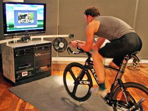 Как сделать из велосипеда самодельный тренажер