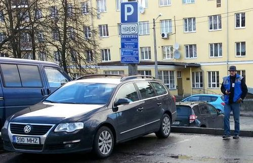 Как штрафуют за парковку в эстонии и почему здесь не нужен стопхам