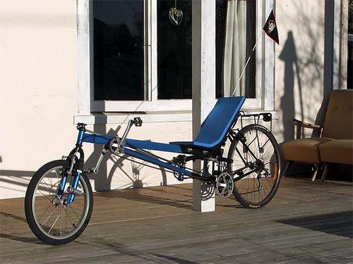 Как своими руками сделать лежачий велосипед (лигерад) с длинной колёсной базой