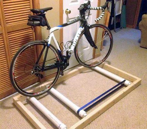 Как своими руками сделать тренажёр из велосипеда