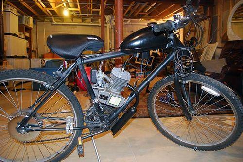 Как своими руками установить бензиновый мотор на велосипед