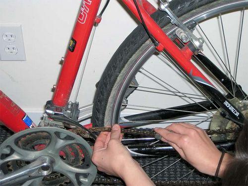 Как удалить ржавчину с велосипеда