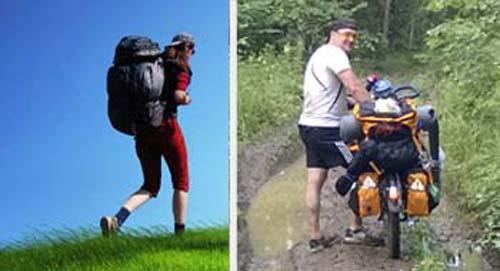 Как выбрать велорюкзак на багажник