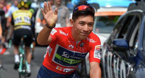 Калеб эван - победитель седьмого этапа джиро д'италия 2017'италия 2017 'италия 2017