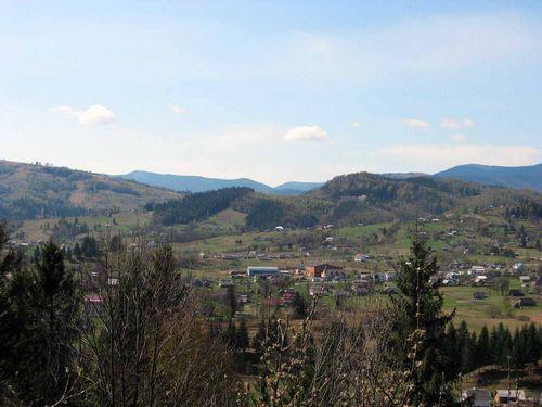 Карпатский маршрут похода для велосипедистов из нижнего берёзова«космач - акрешоры»