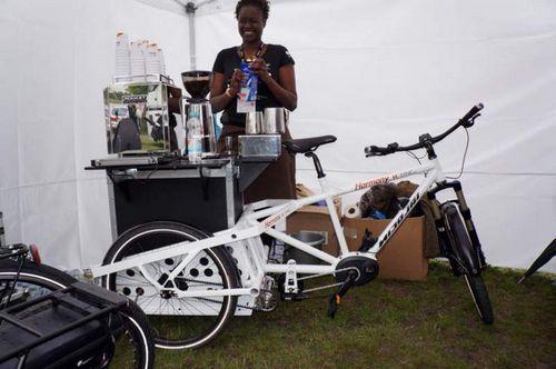 Кофе-байк, грузовые велосипеды и самый маленький тандем на eurobike 2014